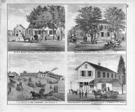Dr. W.F. Wood, Wiemeyer Homestead, Wm. Langhorst, P. Tom Hafe Auglaize County 1880 Ohio  map online
